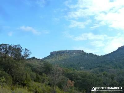 Monumento Natural Tetas de Viana - Trillo; trekking y aventura; rutas de senderismo